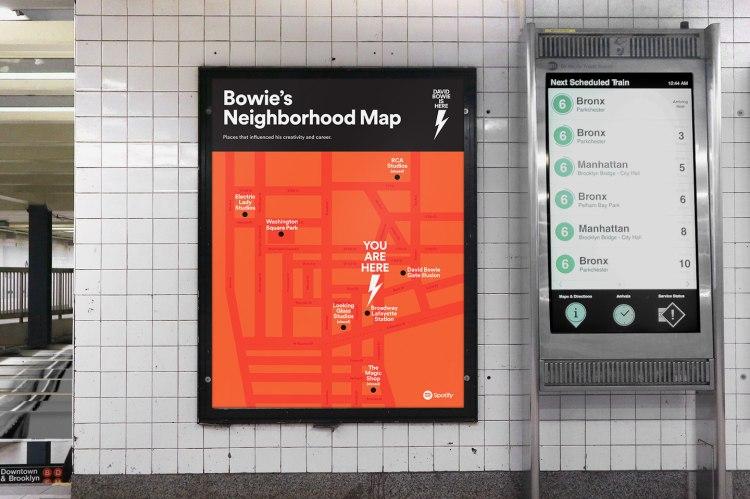 Davie Bowies Neighborhood Map
