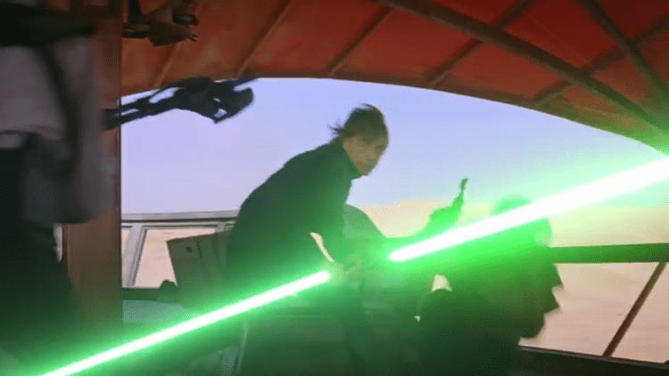 Luke Skywalker Becomes Dirk Lasermaster: The Last Laser Master in Hilarious Star Wars Music Video