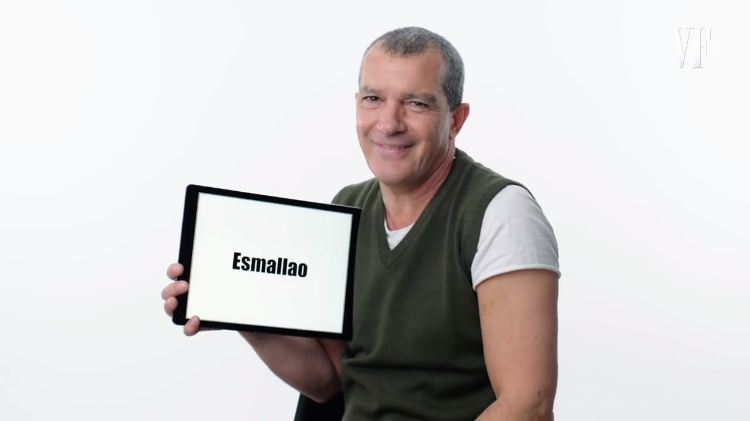 Antonio Banderas Gives a Quick Lesson on the Slang He Heard While Growing Up in Málaga, Spain