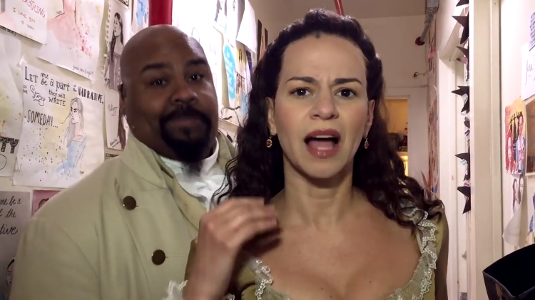 The Touring Casts of 'Hamilton' Perform a Fun Lip Synch Dance Routine to Weird Al's 'Hamilton Polka'