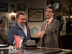 Harry the Hat and Cliff Clavin