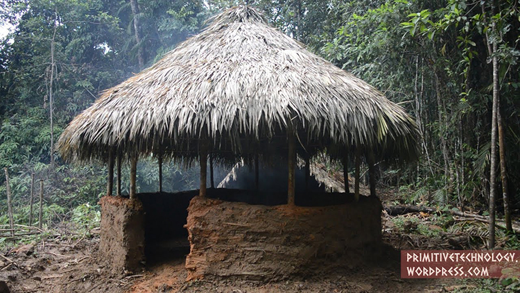How To Build A Round Hut Using Primitive Technology