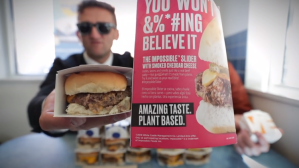 Impossible Burger Challenge Casey Neistat White Castle