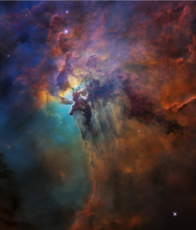 Lagoon Nebula Visible Light