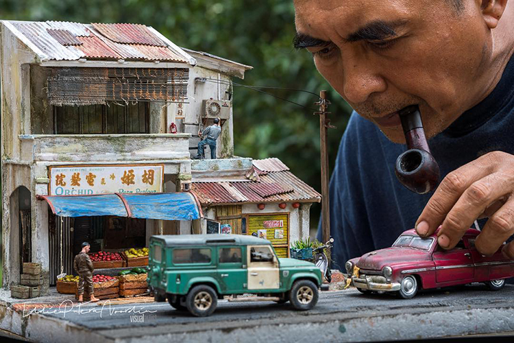 Artist Builds Beautifully Realistic Dioramas Based on His Childhood Memories