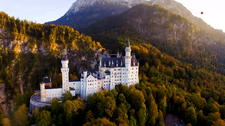 The Hillside Neuschwanstein Castle in Bavaria That Was The Inspiration for Disney's 'Sleeping Beauty'