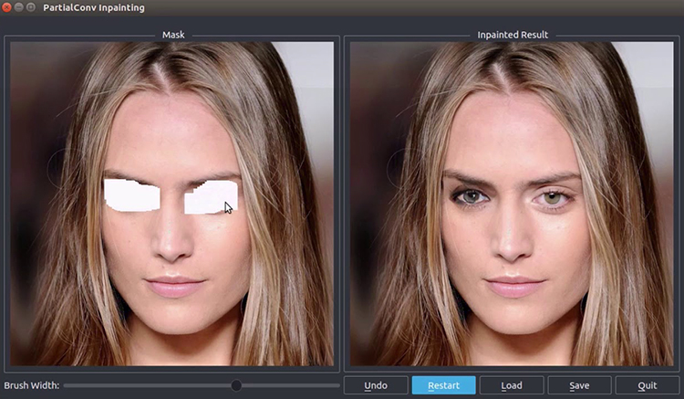 NVIDIA Demonstrates New AI Technology for Reconstructing Photos With Realistic Results