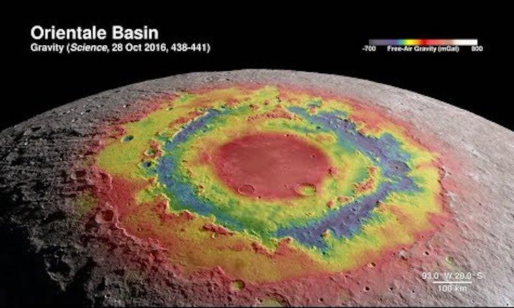 Orientale Basin Moon