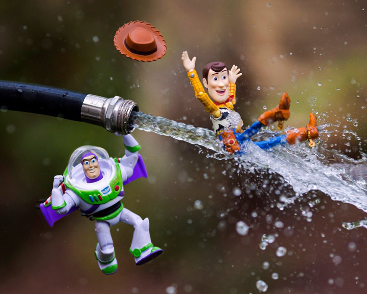 A Fantastic Photo Series Featuring Toys Brought To Life Using