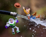 Photographer Mitchell Wu Brings Toys to Life With Realistic Effects
