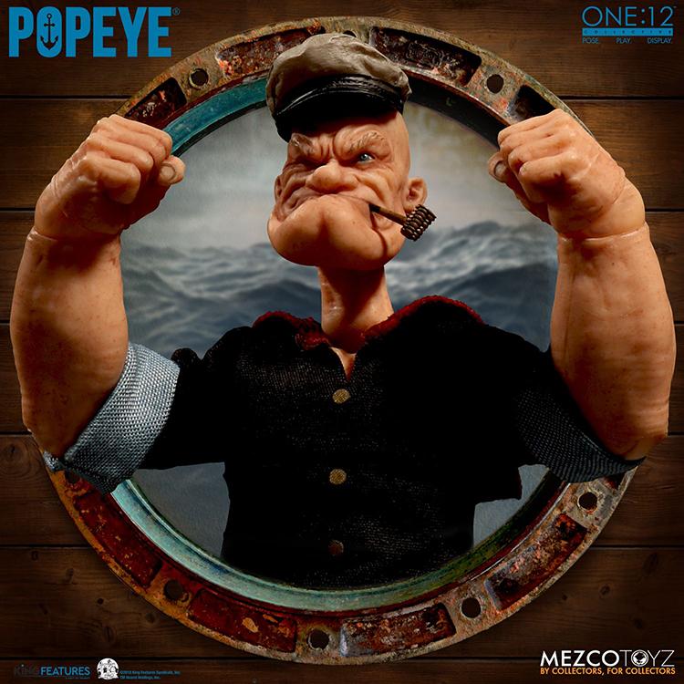 Popeye Figure