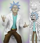 Rick Sanchez Cosplay