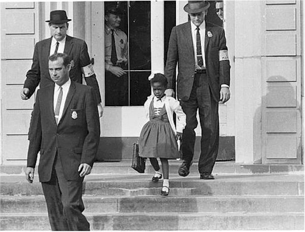 Ruby Bridges 1960 Going to School