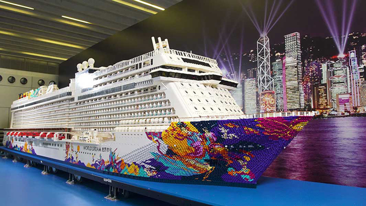 The World's Largest LEGO Ship Built Using Over 2.5 Million Bricks Sets Guinness World Record