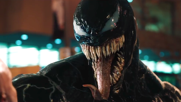 Eddie Brock Goes Through a Crazy Symbiotic Transformation in the New 'Venom' Trailer