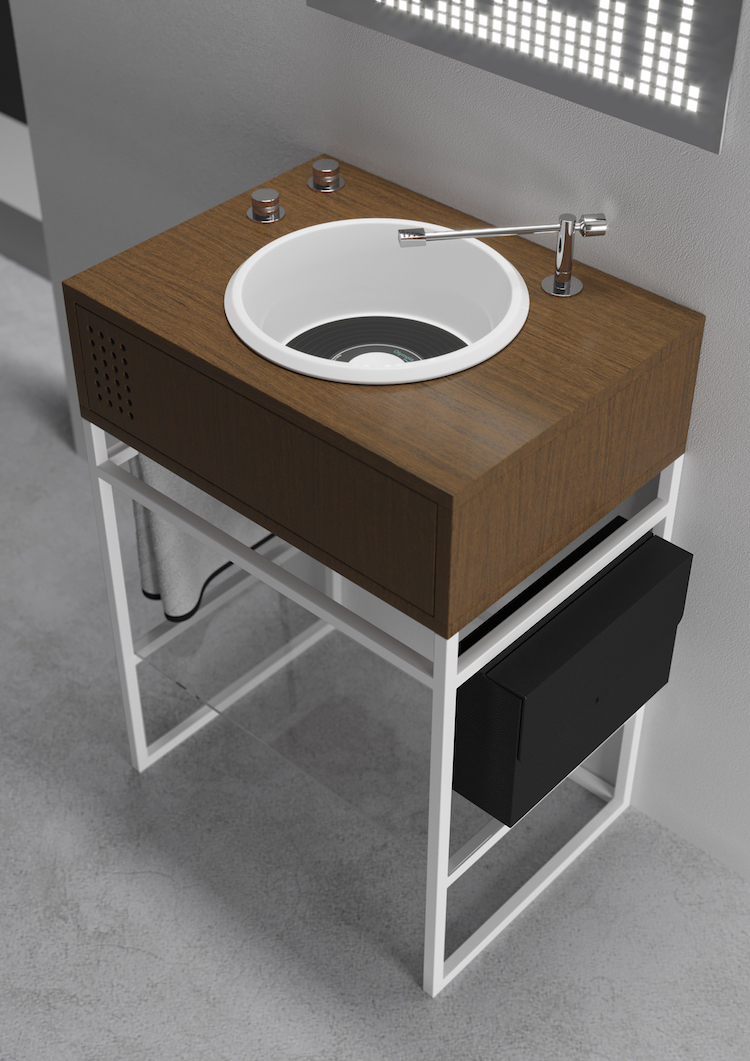 Vinyl Olympic Single Sink