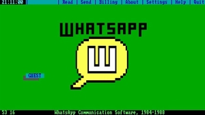 What WhatsApp Would Have Been Like in the 1980s