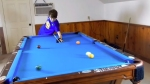 14-Year-Old Performs Amazing Pool Trick Shots
