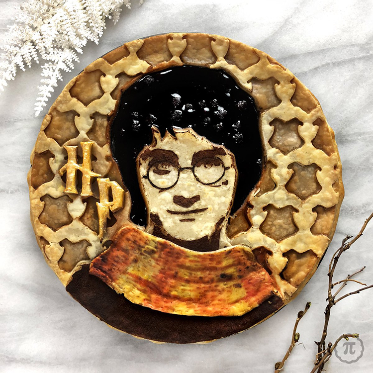 A Magical Series of Harry Potter Pies