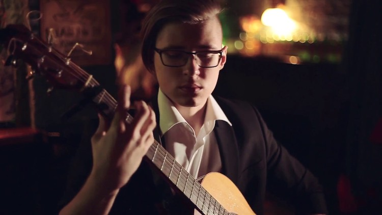 A Highly Percussive Fingerstyle Acoustic Cover of the Iconic Michael Jackson Song 'Billie Jean'