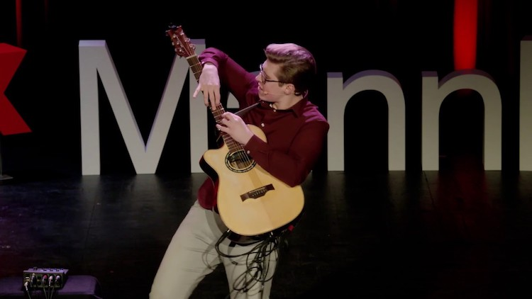 Guitarist Alexandr Misko Explains and Demonstrates His Incredible Fingerstyle Talent to a TEDx Audience