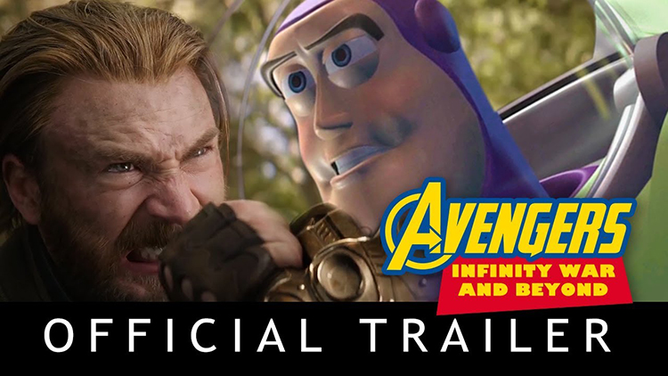 Avengers Infinity War and Beyond Trailer