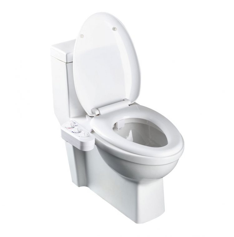 BioBidet BB-270 Duo Self-Cleaning Warm Water Bidet Toilet Attachment