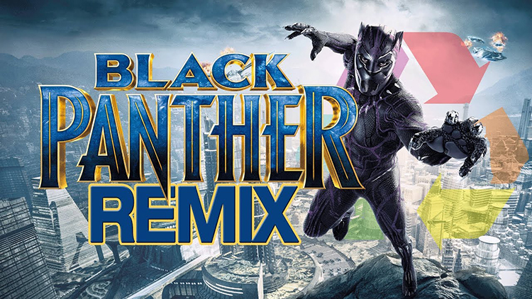 A Superpowered Remix of Black Panther