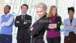 Emilia Clarke Recreates Business Stock Photos