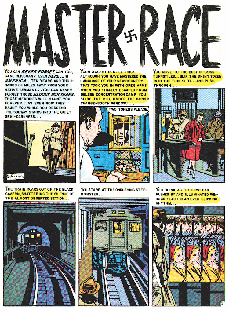 Impact #1 March-Apr 1955 Master Race 1 (1)