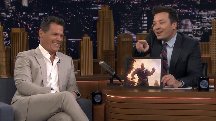 Josh Brolin Tries Out Different Voices For His Avengers: Infinity War Character Thanos