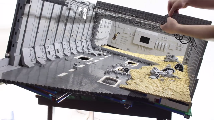 Two Guys Build a Wrecked Super Star Destroyer From Star ...