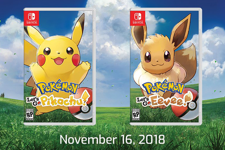 Pokémon Let's Go, Pikachu! and Pokémon Let's Go, Eevee!