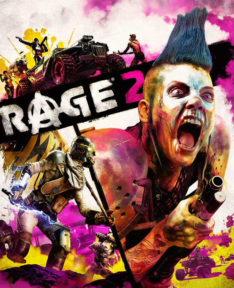 Rage 2, A Post-Apocalyptic Open World First-Person Shooter Video Game Full of High Speed Carnage