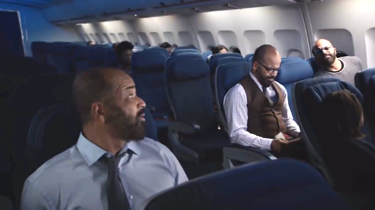 Jeffrey Wright Asks 'Should I Be Scared?' to Anxious Versions of Himself on a Bumpy Airplane Ride
