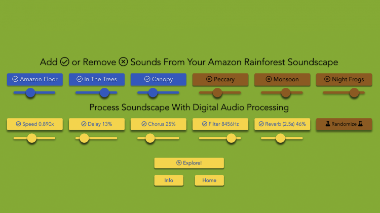 Sound Voyage, An Immersive Audio Experience With Customizable Soundscapes From Around the World