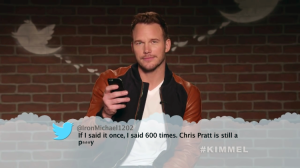 The Avengers Infinity War Cast Read Mean Tweets About Themselves on Jimmy Kimmel Live