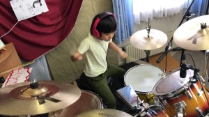 8 Year Old Drummer Good times Bad Times