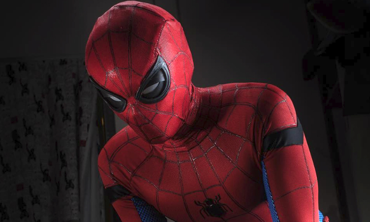 A Custom Spider-Man Mask With Functioning Eyes