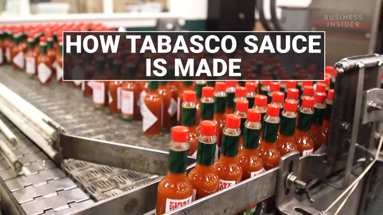 An Inside Look at How Tabasco Hot Sauce Is Made