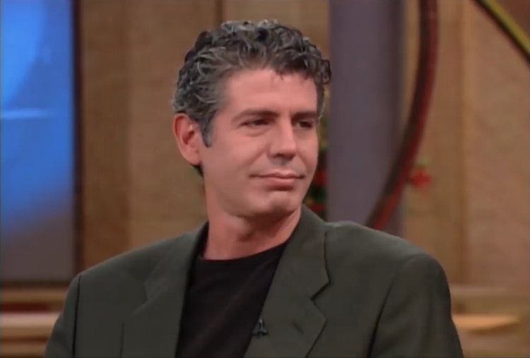Anthony Bourdain Shares His Knowledge About the Obscene Amount of Butter Used in Restaurants