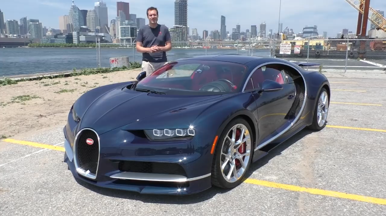 The 2018 Bugatti Chiron Is The World's Fastest Production Car and the Most Expensive at $3 Million