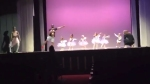 Dad Runs on Stage to Dance With His Ballerina Daughter Suffering From Stage Fright