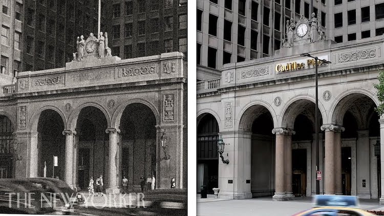 A Fascinating Split Screen Montage That Juxtaposes the Past 100 Years of Detroit With the Current Day