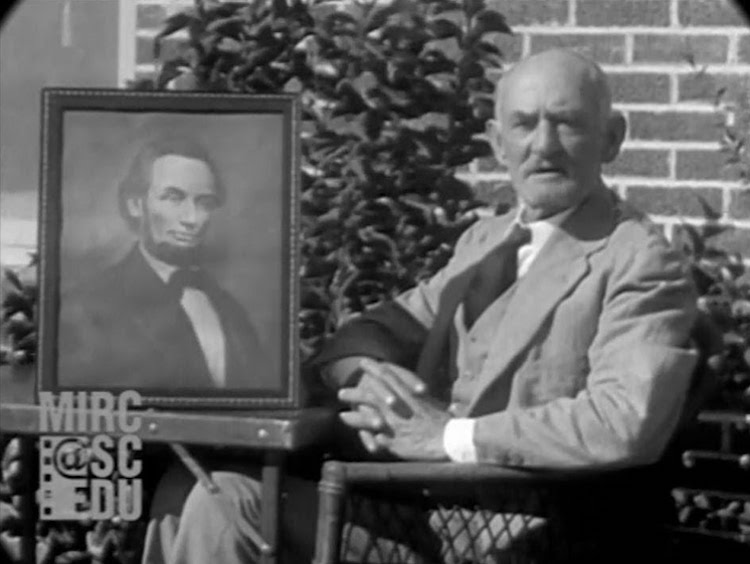 Early 20th Century Footage of Two Men Sharing First Hand Witness Accounts of Lincoln's Assassination