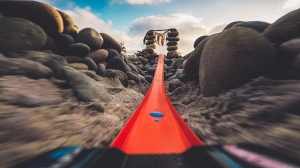 Hot Wheels 'Zoom In' Car Captures POV GoPro Footage of Its San Diego Beach Run