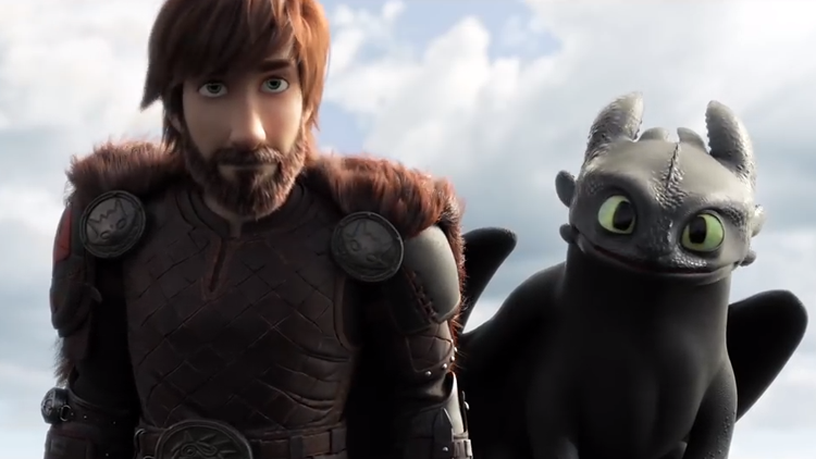 Toothless Falls in Love in a Fiery Trailer For How to Train Your Dragon: The Hidden World