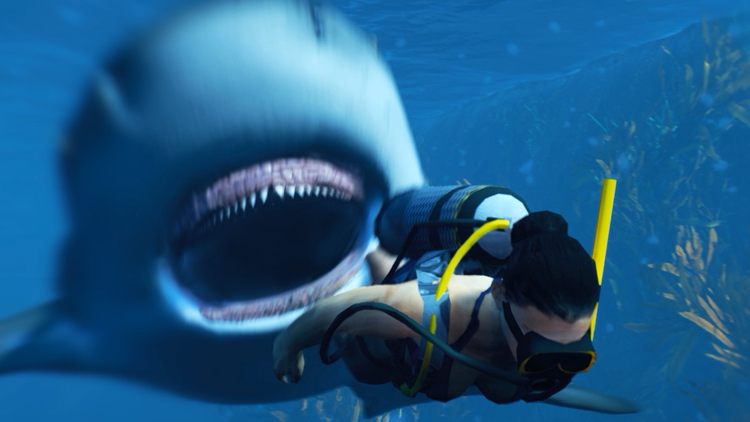 Maneater, An Open-World Video Game Where You Terrorize the Gulf Coast as a Giant Bull Shark