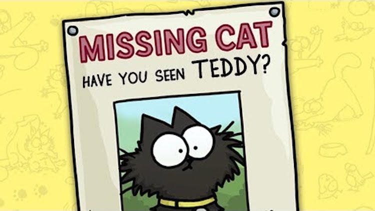 Simon's Cat Logic Offers Helpful Advice on What to Do When Your Beloved Cat Goes Missing