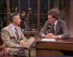 Mister Rogers David Letterman